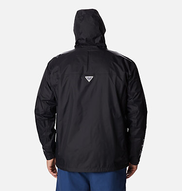 Men's PFG Storm™ Jacket – Big PFG Storm™ Jacket | 469 | 1X, Black, Cool Grey, back