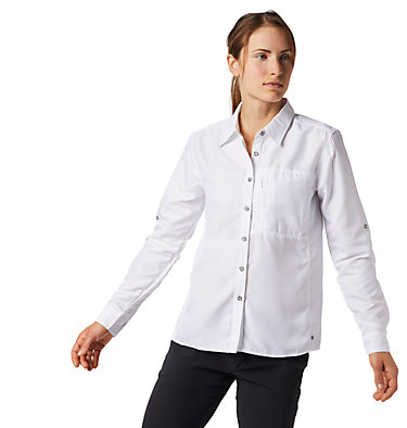 Women's Canyon™ Long Sleeve Shirt Canyon™ Long Sleeve Shirt | 549 | L, White, front