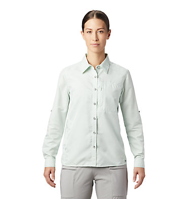 Women's Canyon™ Long Sleeve Shirt Canyon™ Long Sleeve Shirt | 549 | L, Glacial Mint, front