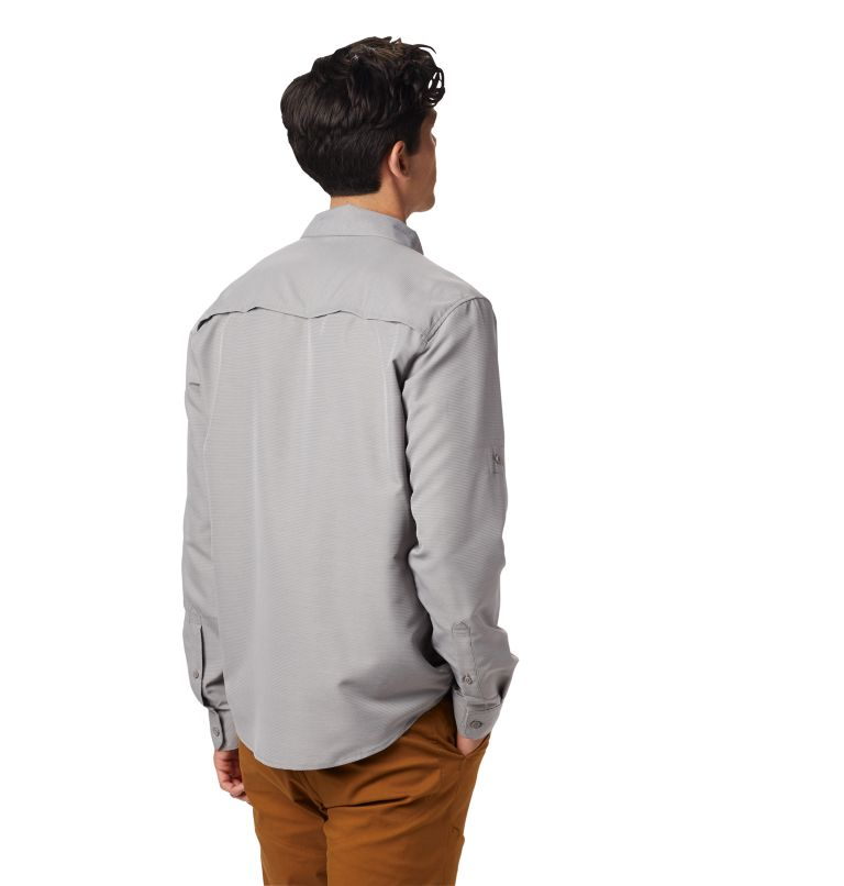 Canyon™ Long Sleeve Shirt | 073 | XXL Men's Canyon™ Long Sleeve Shirt, Manta Grey, back