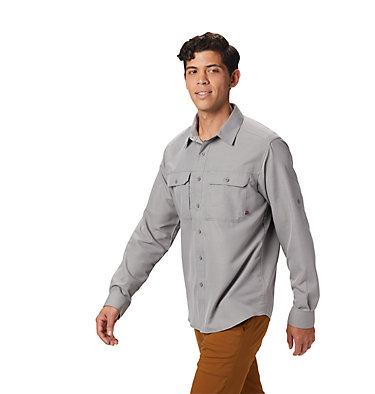 Men's Canyon™ Long Sleeve Shirt Canyon™ Long Sleeve Shirt | 100 | M, Manta Grey, front