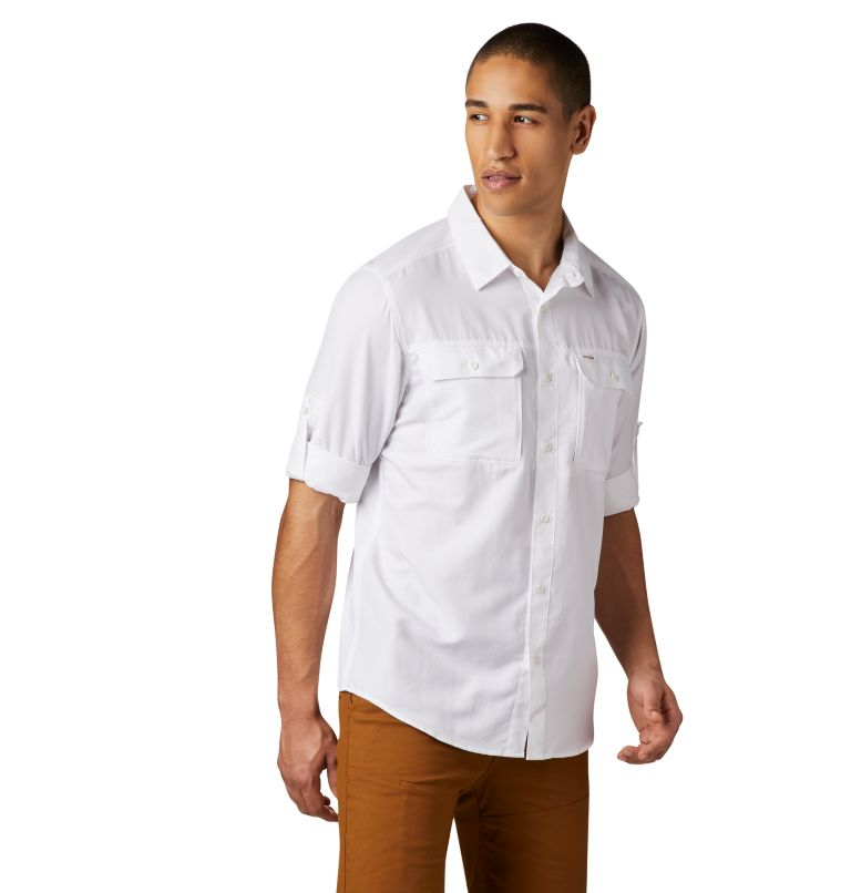 Canyon™ Long Sleeve Shirt | 100 | M Men's Canyon™ Long Sleeve Shirt, White, a3