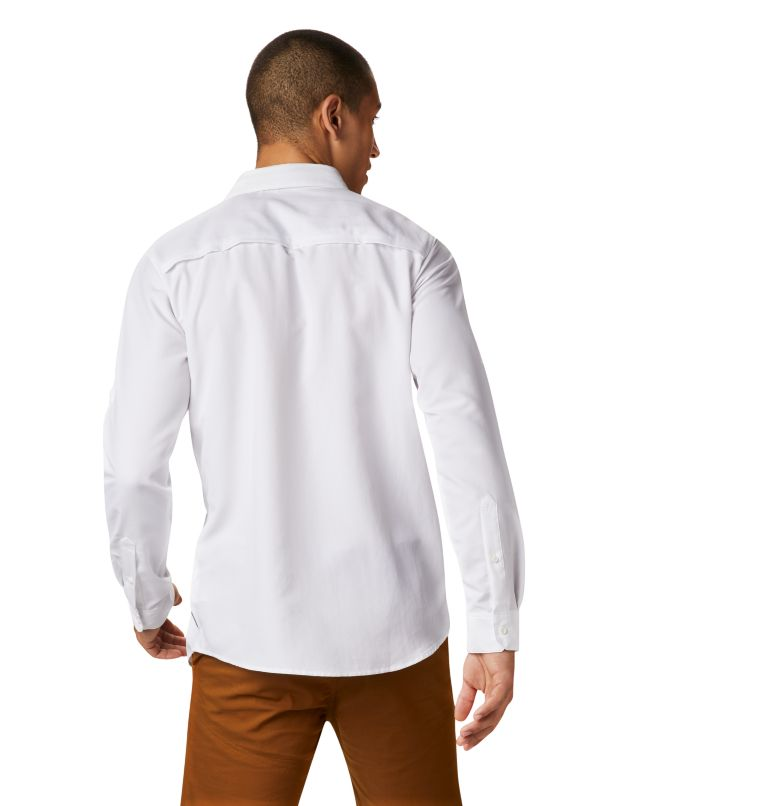 Canyon™ Long Sleeve Shirt | 100 | M Men's Canyon™ Long Sleeve Shirt, White, back