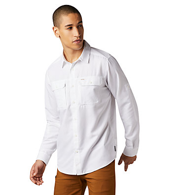 Men's Canyon™ Long Sleeve Shirt Canyon™ Long Sleeve Shirt | 100 | M, White, front