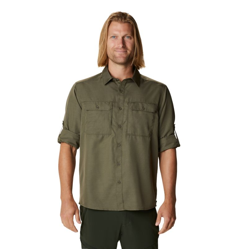 Canyon™ Long Sleeve Shirt | 253 | S Men's Canyon™ Long Sleeve Shirt, Raw Clay, a5