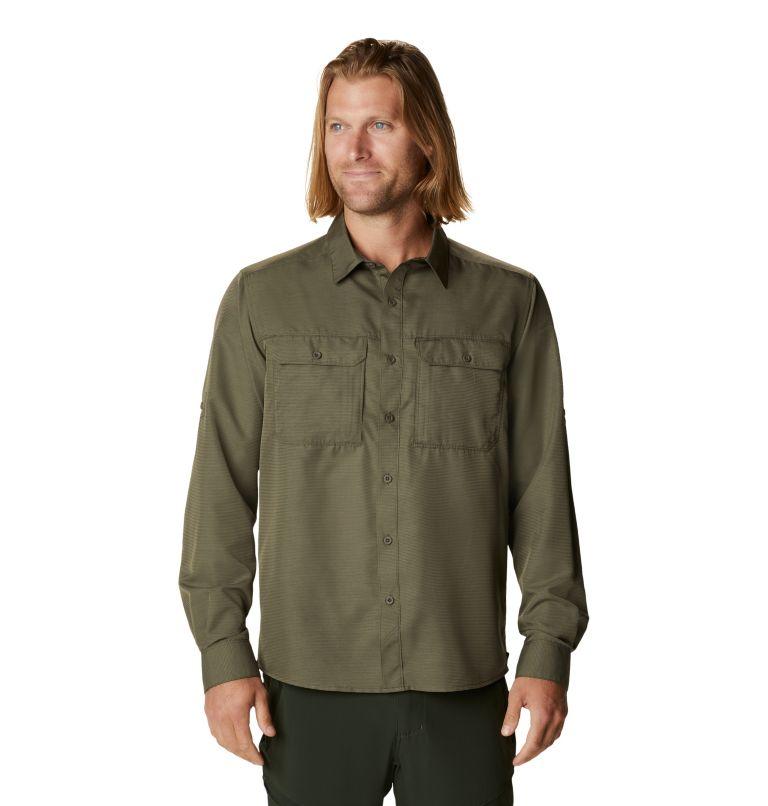 Canyon™ Long Sleeve Shirt | 253 | S Men's Canyon™ Long Sleeve Shirt, Raw Clay, front