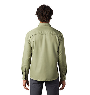 Men's Canyon™ Long Sleeve Shirt Canyon™ Long Sleeve Shirt | 100 | M, Dark Army, back