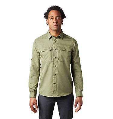 Men's Canyon™ Long Sleeve Shirt Canyon™ Long Sleeve Shirt | 100 | M, Dark Army, front
