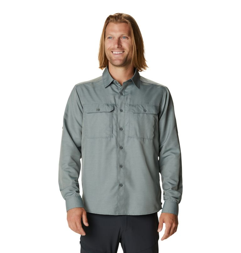 Canyon™ Long Sleeve Shirt | 339 | XXL Men's Canyon™ Long Sleeve Shirt, Wet Stone, front