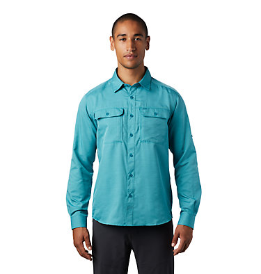 Men's Canyon™ Long Sleeve Shirt Canyon™ Long Sleeve Shirt | 100 | M, Vivid Teal, front