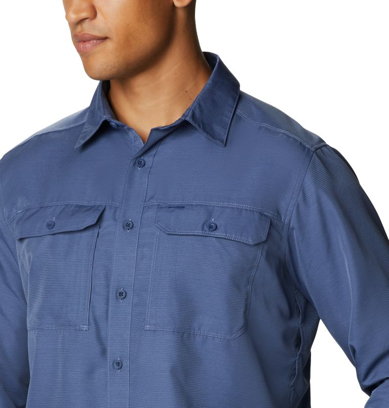 Canyon™ Long Sleeve Shirt | 445 | L Men's Canyon™ Long Sleeve Shirt, Northern Blue, a4