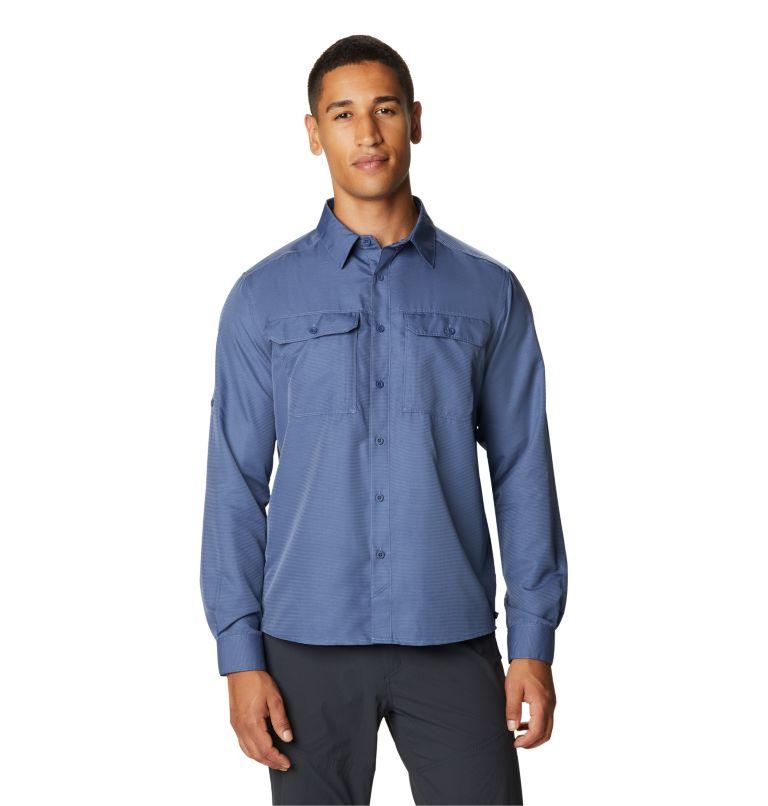 Canyon™ Long Sleeve Shirt | 445 | L Men's Canyon™ Long Sleeve Shirt, Northern Blue, front