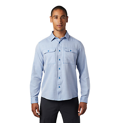 Men's Canyon™ Long Sleeve Shirt Canyon™ Long Sleeve Shirt | 100 | M, Deep Lake, front