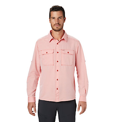 Men's Canyon™ Long Sleeve Shirt Canyon™ Long Sleeve Shirt | 100 | M, Desert Red, front