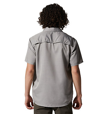 Men's Canyon™ Short Sleeve Shirt Canyon™ Short Sleeve Shirt | 204 | M, Manta Grey, back