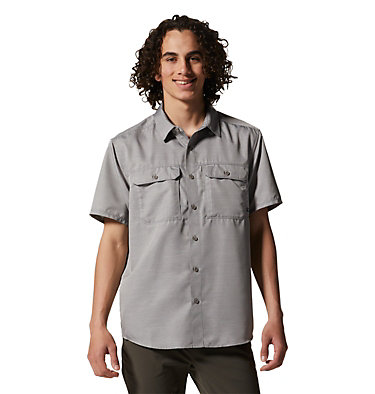 Men's Canyon™ Short Sleeve Shirt Canyon™ Short Sleeve Shirt | 204 | M, Manta Grey, front