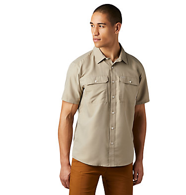 Men's Canyon™ Short Sleeve Shirt Canyon™ Short Sleeve Shirt | 360 | L, Badlands, front