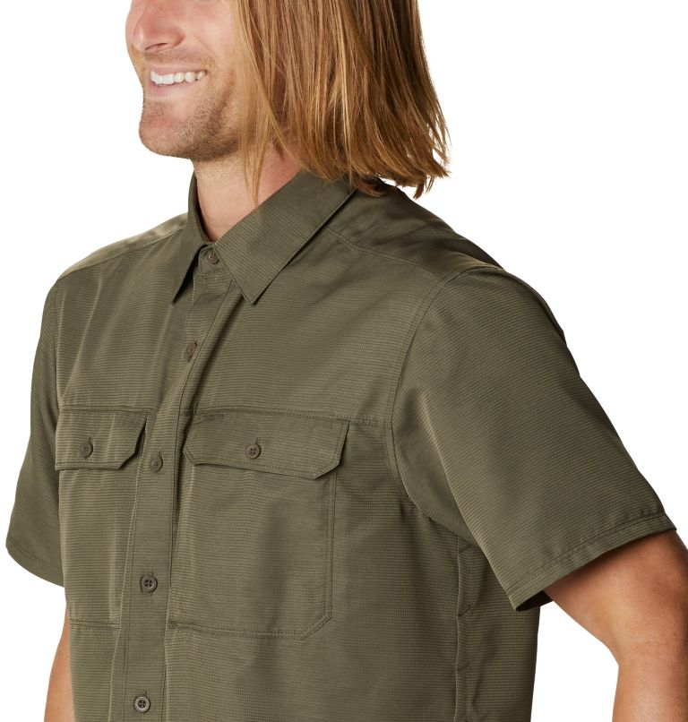 Canyon™ Short Sleeve Shirt | 253 | M Men's Canyon™ Short Sleeve Shirt, Raw Clay, a4