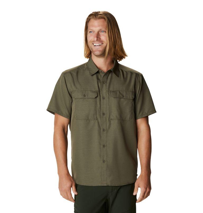 Canyon™ Short Sleeve Shirt | 253 | M Men's Canyon™ Short Sleeve Shirt, Raw Clay, front