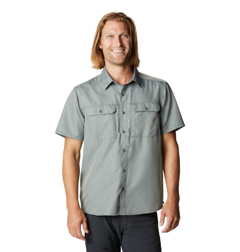 Canyon™ Short Sleeve Shirt   339   L Men's Canyon™ Short Sleeve Shirt, Wet Stone, front