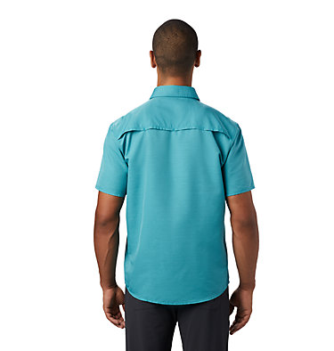 Men's Canyon™ Short Sleeve Shirt Canyon™ Short Sleeve Shirt | 360 | L, Vivid Teal, back
