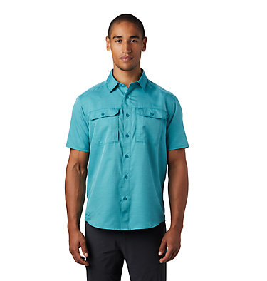 Men's Canyon™ Short Sleeve Shirt Canyon™ Short Sleeve Shirt | 360 | L, Vivid Teal, front