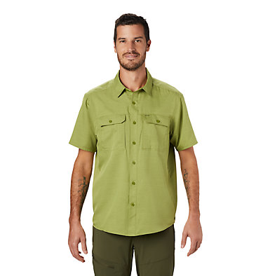 Men's Canyon™ Short Sleeve Shirt Canyon™ Short Sleeve Shirt | 360 | L, Just Green, front
