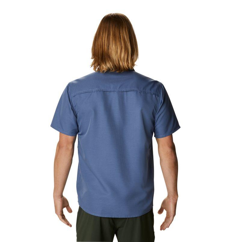 Canyon™ Short Sleeve Shirt | 445 | XL Men's Canyon™ Short Sleeve Shirt, Northern Blue, back