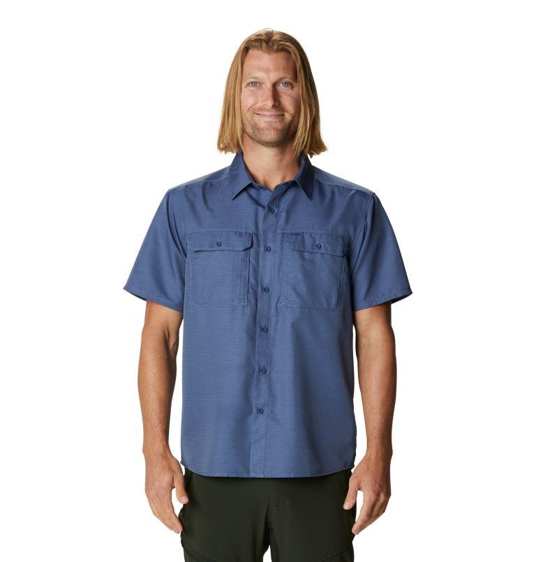 Canyon™ Short Sleeve Shirt | 445 | XL Men's Canyon™ Short Sleeve Shirt, Northern Blue, front