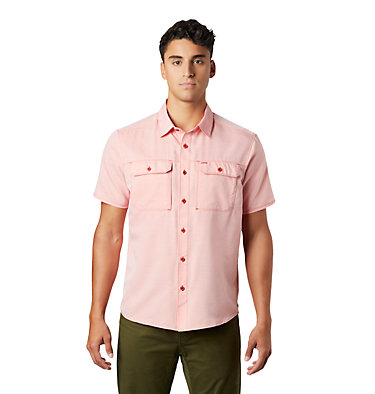 Men's Canyon™ Short Sleeve Shirt Canyon™ Short Sleeve Shirt | 360 | L, Desert Red, front