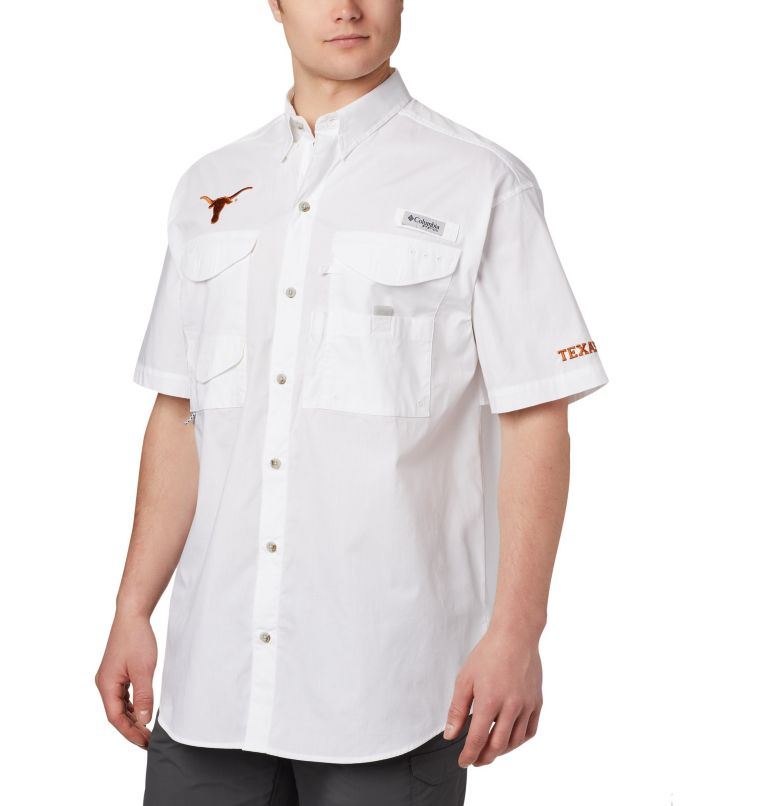 Men's PFG Bonehead™ Short Sleeve Shirt - Texas Men's PFG Bonehead™ Short Sleeve Shirt - Texas, front
