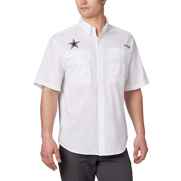 huge selection of a7d40 7cdde Men's PFG Tamiami™ Short Sleeve Shirt - Dallas Cowboys
