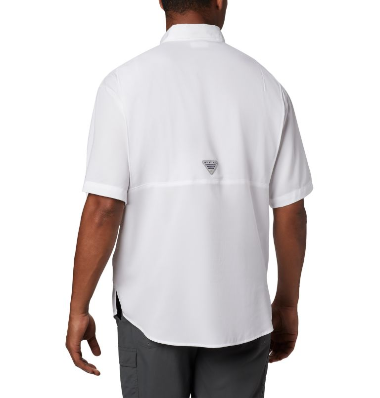 Men's PFG Tamiami™ Short Sleeve Shirt - Texas Men's PFG Tamiami™ Short Sleeve Shirt - Texas, back