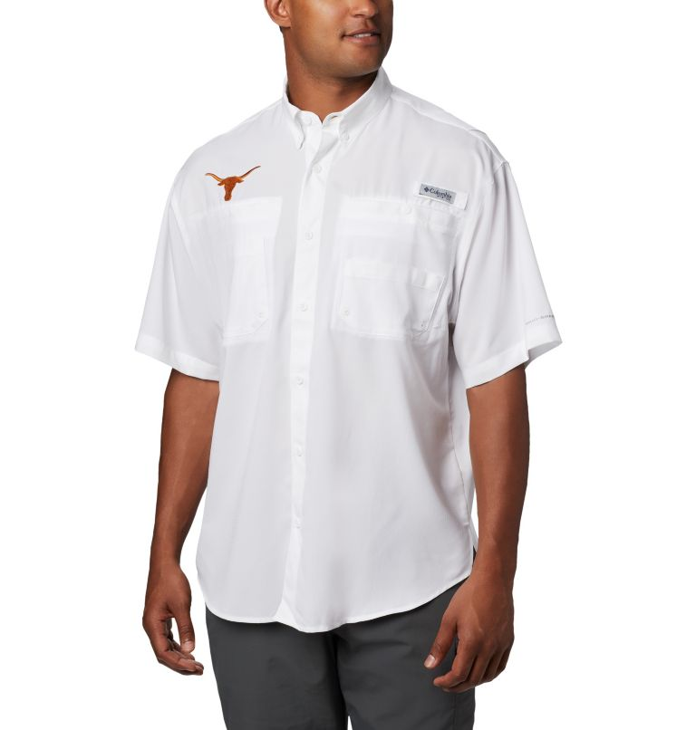 Men's PFG Tamiami™ Short Sleeve Shirt - Texas Men's PFG Tamiami™ Short Sleeve Shirt - Texas, front