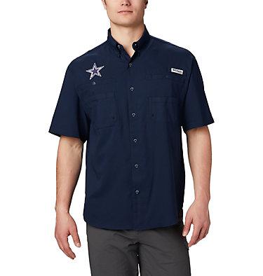 Men's PFG Tamiami™ Short Sleeve Shirt - Dallas Cowboys NFL Tamiami™ Short Sleeve Shirt | 464 | L, DC - Collegiate Navy, front