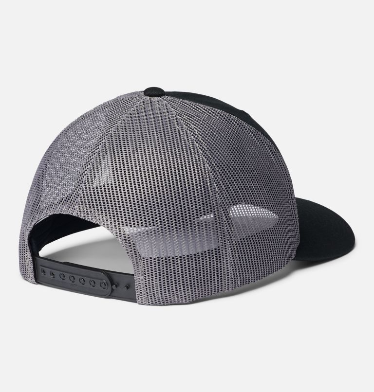Columbia Mesh™ Snap Back Hat | 015 | O/S Unisex Columbia Mesh™ Snap Back Hat, Black Canadian Rockies, back