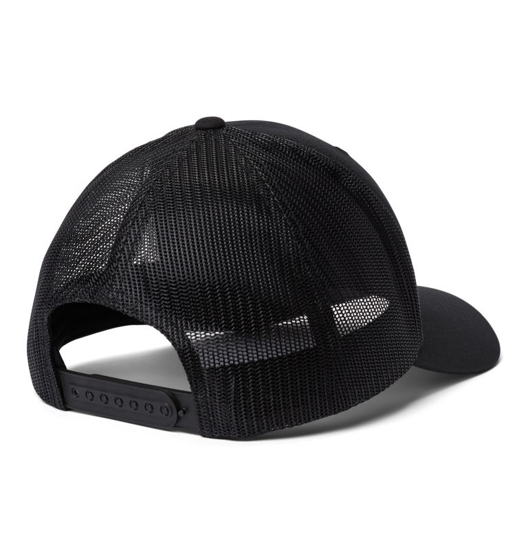 Columbia Mesh™ Snap Back Hat | 019 | O/S Unisex Columbia Mesh™ Snap Back Hat, Black, Weld, back
