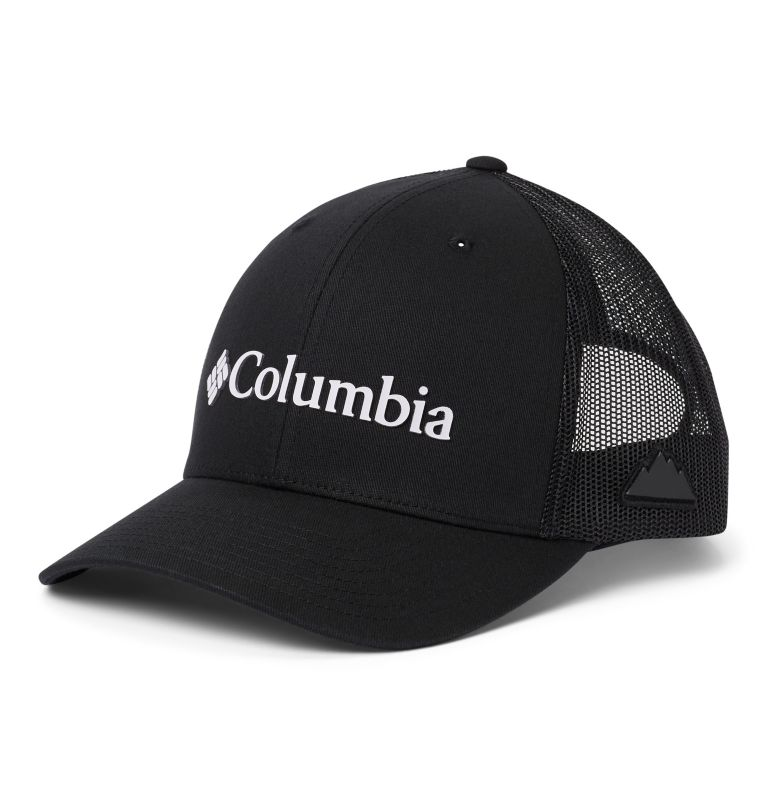 Columbia Mesh™ Snap Back Hat | 019 | O/S Unisex Columbia Mesh™ Snap Back Hat, Black, Weld, front