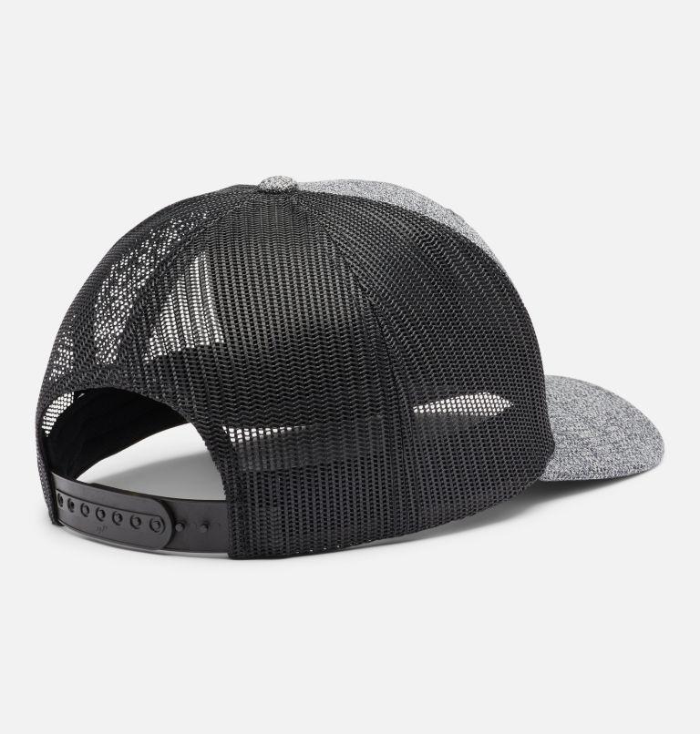 Columbia Mesh™ Snap Back Hat   034   O/S Unisex Columbia Mesh™ Snap Back Hat, Grill Heather, Circle Patch, back