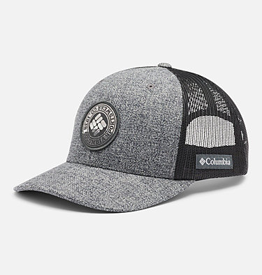 Casquette à bouton pression Columbia Mesh™ Columbia Mesh™ Snap Back Hat | 015 | O/S, Grill Heather, Circle Patch, front