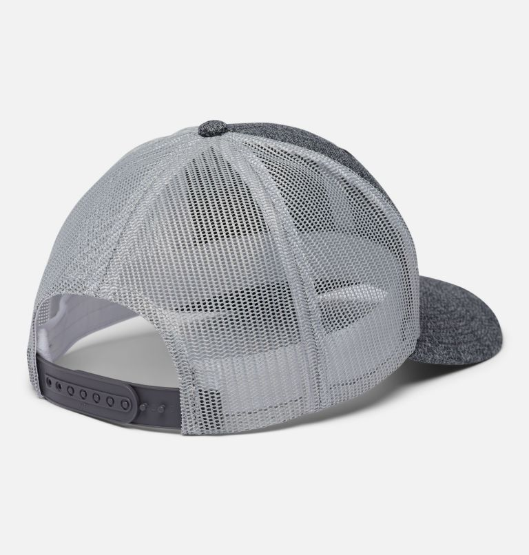 Columbia Mesh™ Snap Back Hat   036   O/S Unisex Columbia Mesh™ Snap Back Hat, Grill Heather, Weld Logo, back
