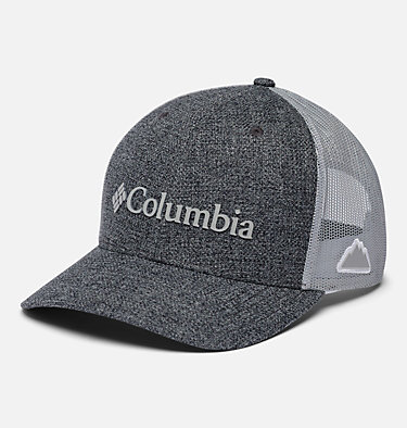 Unisex Columbia Mesh™ Snap Back Hat Columbia Mesh™ Snap Back Hat | 019 | O/S, Grill Heather, Weld Logo, front