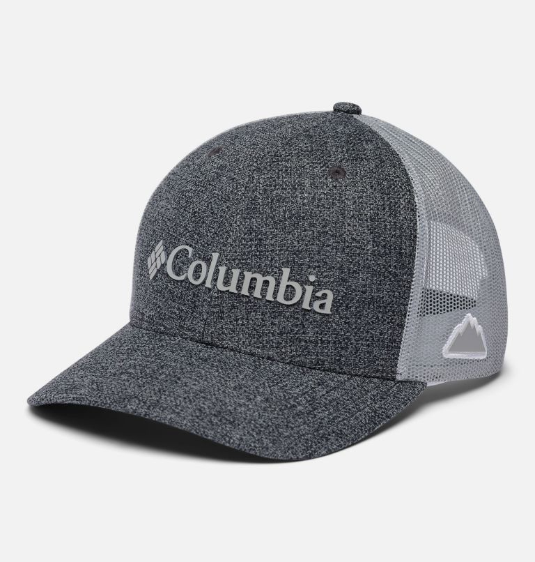 Columbia Mesh™ Snap Back Hat   036   O/S Unisex Columbia Mesh™ Snap Back Hat, Grill Heather, Weld Logo, front