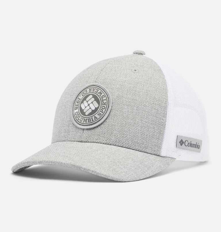 Columbia Mesh™ Snap Back Hat   044   O/S Unisex Columbia Mesh™ Snap Back Hat, Columbia Grey Heather, front