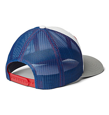 Unisex Columbia Mesh™ Snap Back Hat Columbia Mesh™ Snap Back Hat | 100 | O/S, White, Carbon, Mountain Red, Buffalo, back
