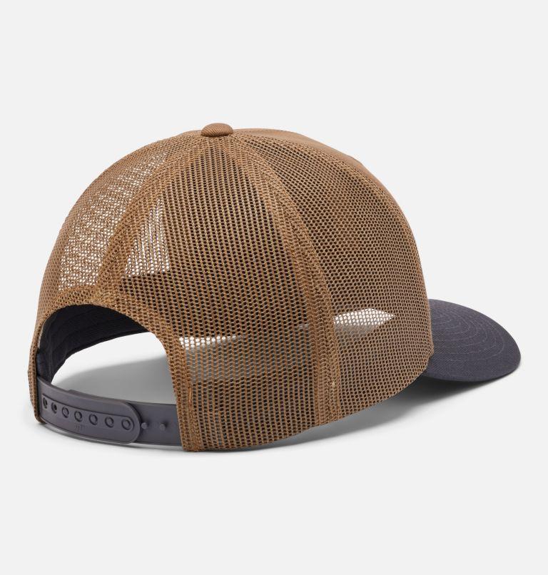 Columbia Mesh™ Snap Back Hat | 259 | O/S Unisex Columbia Mesh™ Snap Back Hat, Delta, Shark, Mt Hood Cicle Patch, back