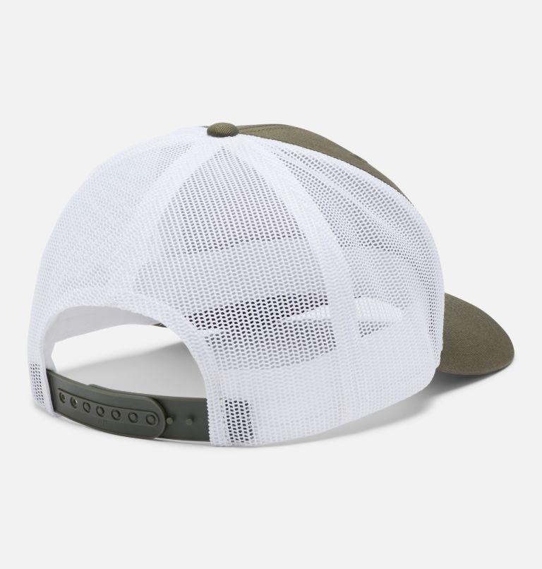 Columbia Mesh™ Snap Back Hat | 320 | O/S Unisex Columbia Mesh™ Snap Back Hat, Olive Green, Weld Logo, back