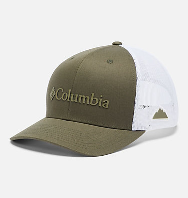 Unisex Columbia Mesh™ Snap Back Hat Columbia Mesh™ Snap Back Hat   019   O/S, Olive Green, Weld Logo, front