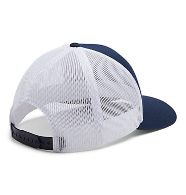Unisex Columbia Mesh™ Snap Back Hat Columbia Mesh™ Snap Back Hat | 019 | O/S, Coll Navy, White, Red Jasper, back