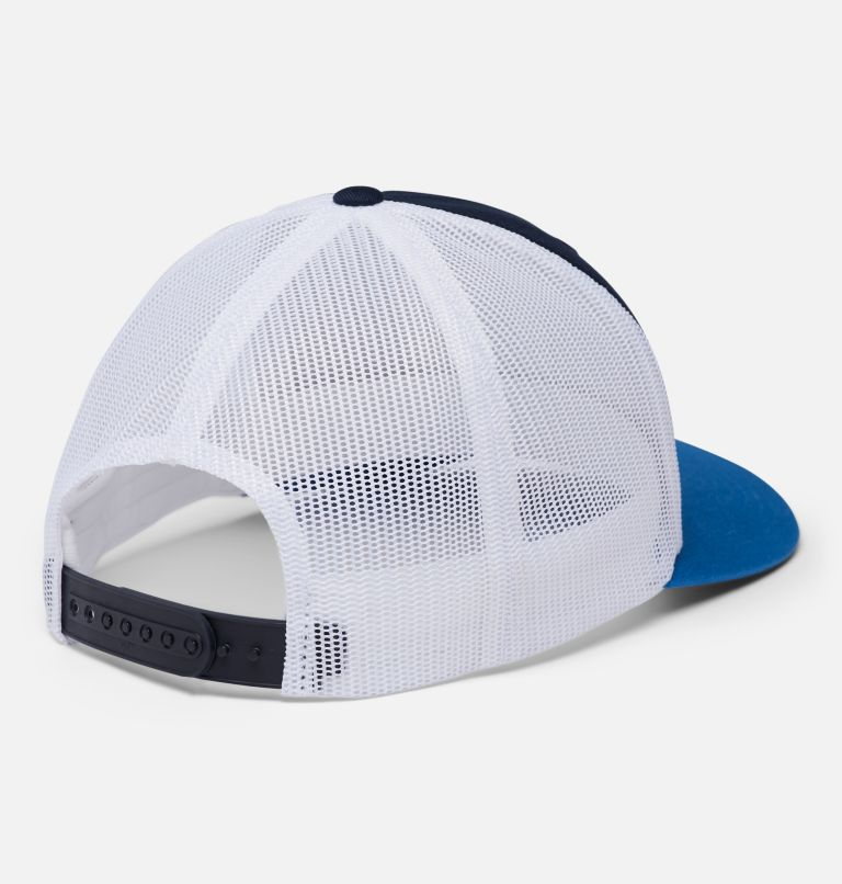 Columbia Mesh™ Snap Back Hat | 472 | O/S Unisex Columbia Mesh™ Snap Back Hat, Collegiate Navy, Portland Patch, back